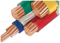 Van Goede Kwaliteit XLPE geïsoleerde stroomkabel & 1000V Copper Dirigent PVC geïsoleerde kabels aangepast met drie halve Core te koop